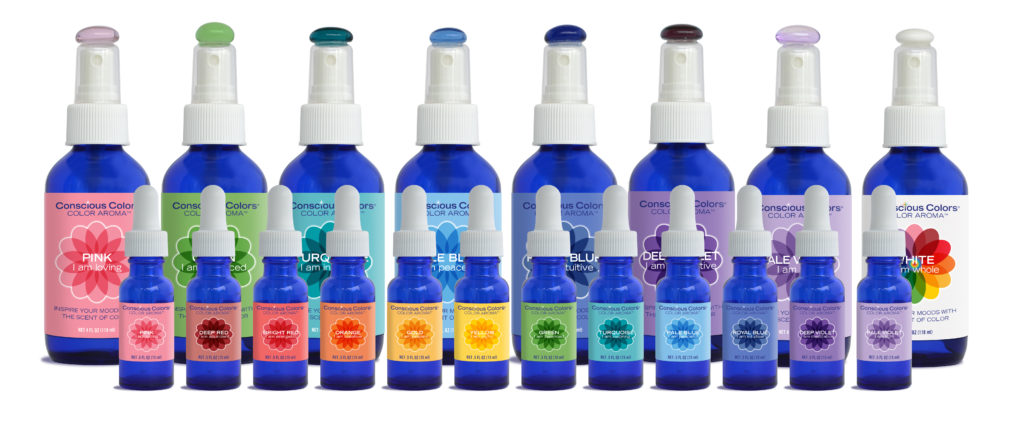 color aromatherapy kit