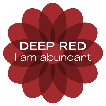 Deep Red Color Aroma Oil