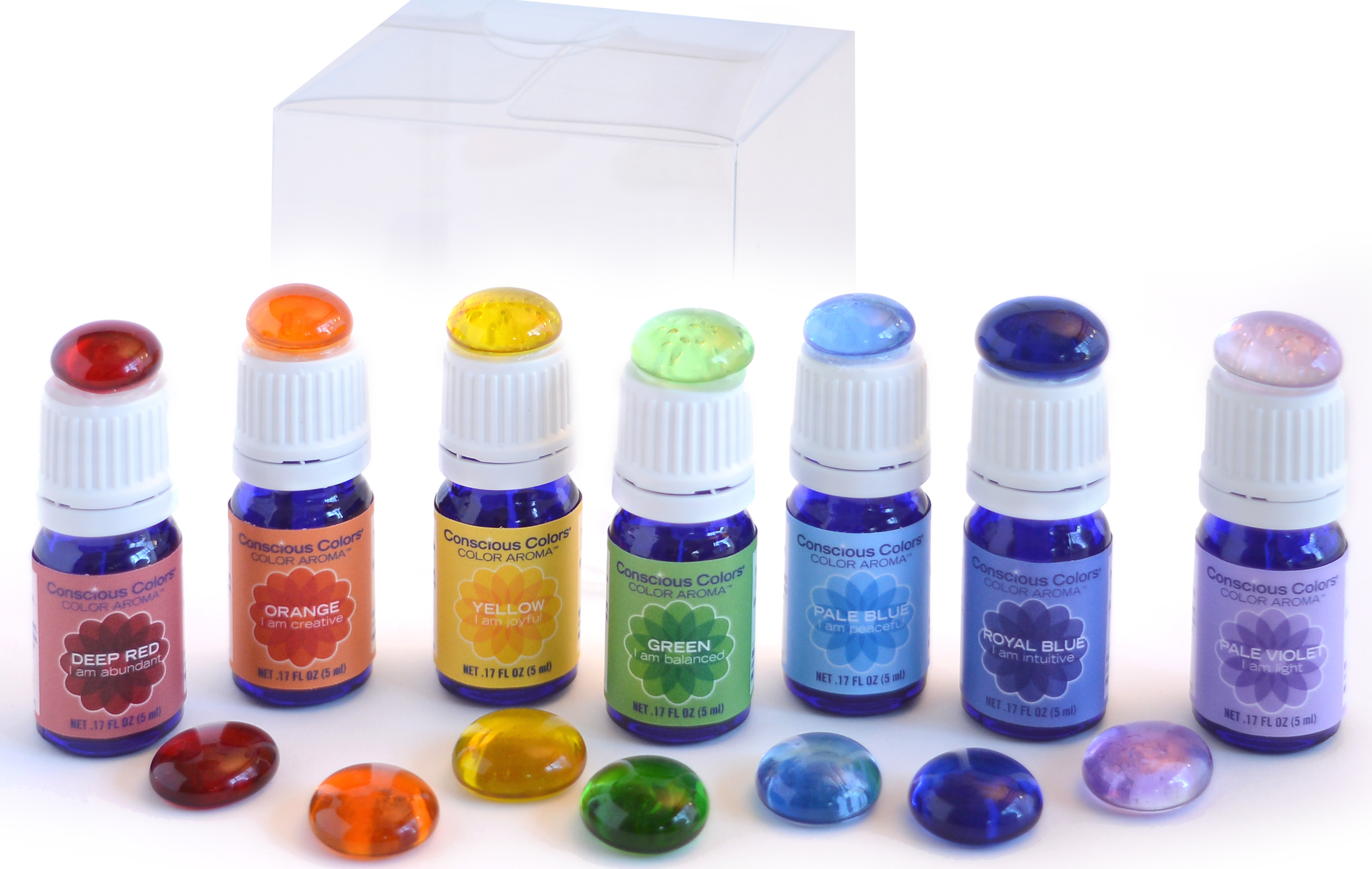Color Aroma Chakra Wellness Kit