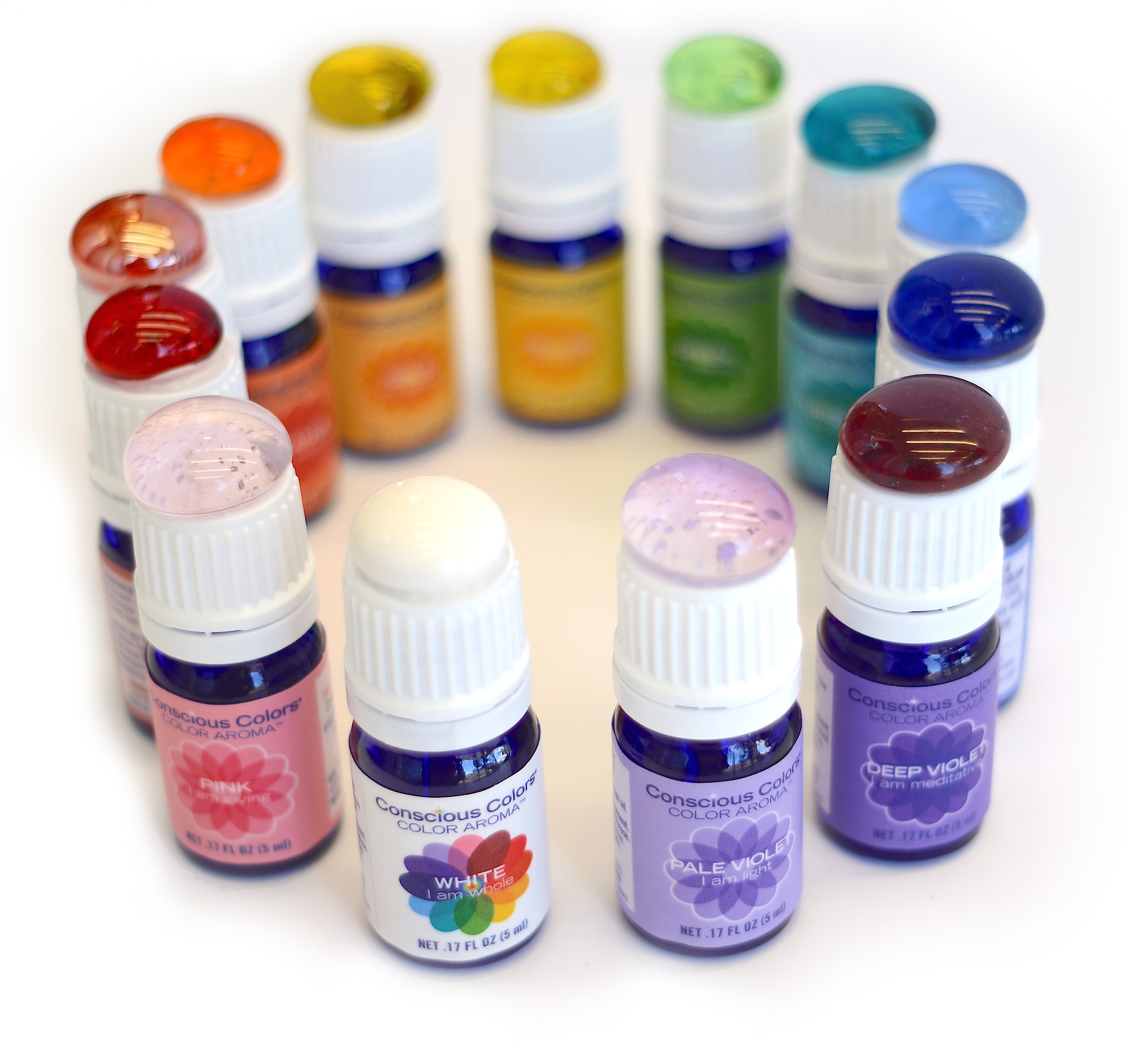 Complete Color Aroma Oil Kit